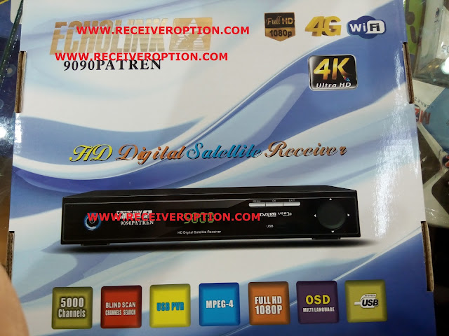 ECHOLINK 9090 PATREN HD RECEIVER AUTO ROLL POWERVU KEY SOFTWARE