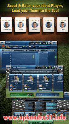 PES Club Manager v1.5.0 APK Terbaru
