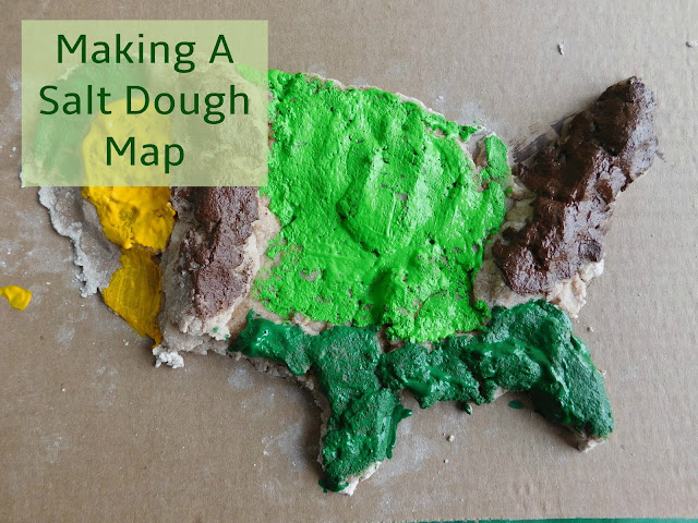 Salt Dough Map Recipe. These Simple Ornaments Are Made With The ...
