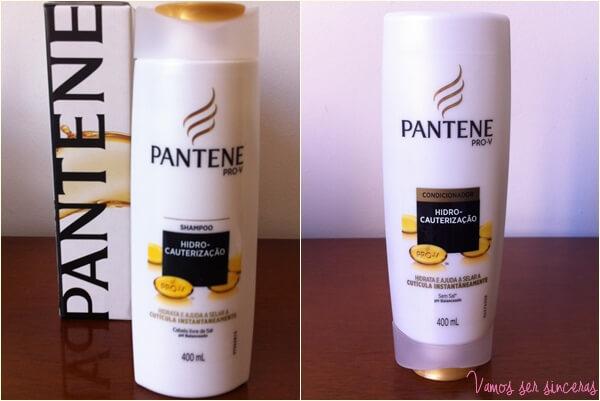 Resenha: Shampoo e Condicionador Hidro-Cauterização Pantene