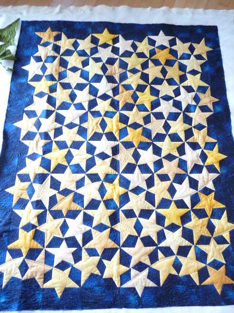 Cosmosdust Quilt Free Pattern