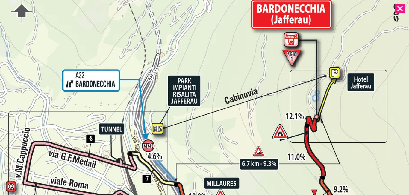 Oggi tappa Venaria Reale-Bardonecchia con Cima Coppi: DIRETTA Giro d'Italia Streaming LIVE su RAI TV oggi 25 maggio 2018