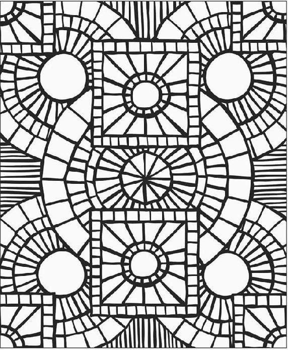 Mosaic coloring sheets free coloring sheet for Mosaic templates for kids