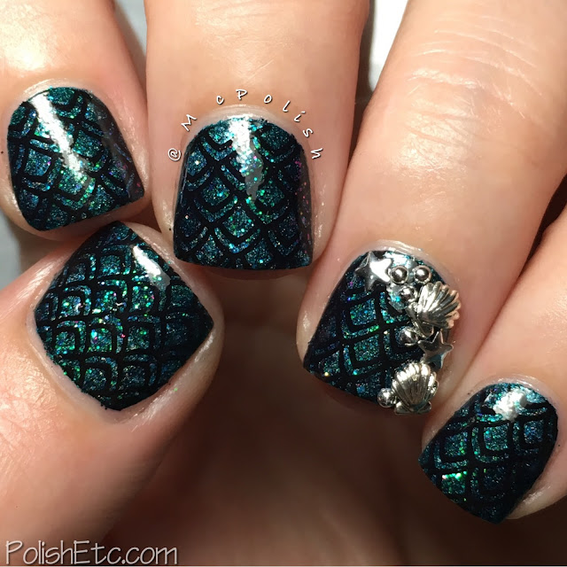 Mermaid Nails for the #31dc2016Weekly by McPolish