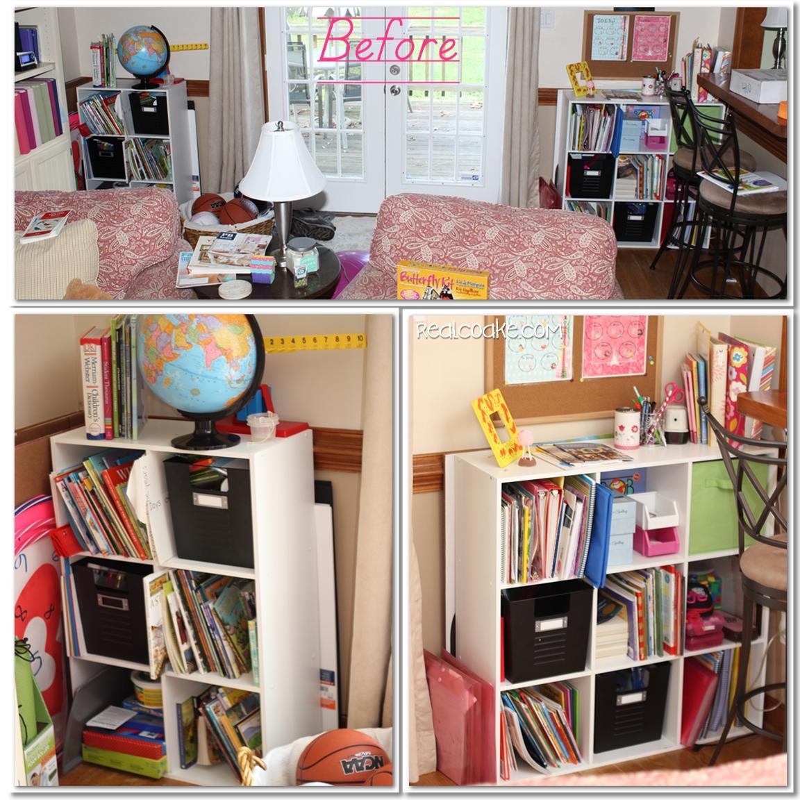 Homeschool Organization Our Newly Organized School Room