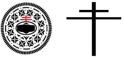 """Fakta Tersembunyi Simbol Salib dalam Kue """"Diputar, Dijilat, Dicelupin"""""""