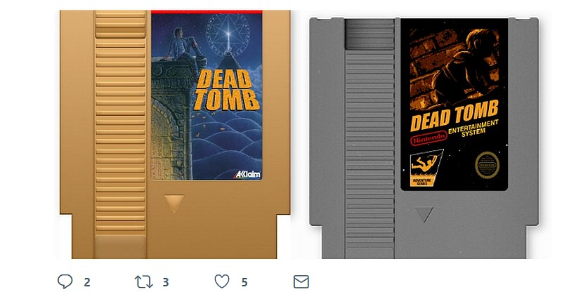 Indie Retro News: Dead Tomb - A new NES game by CollectorVision