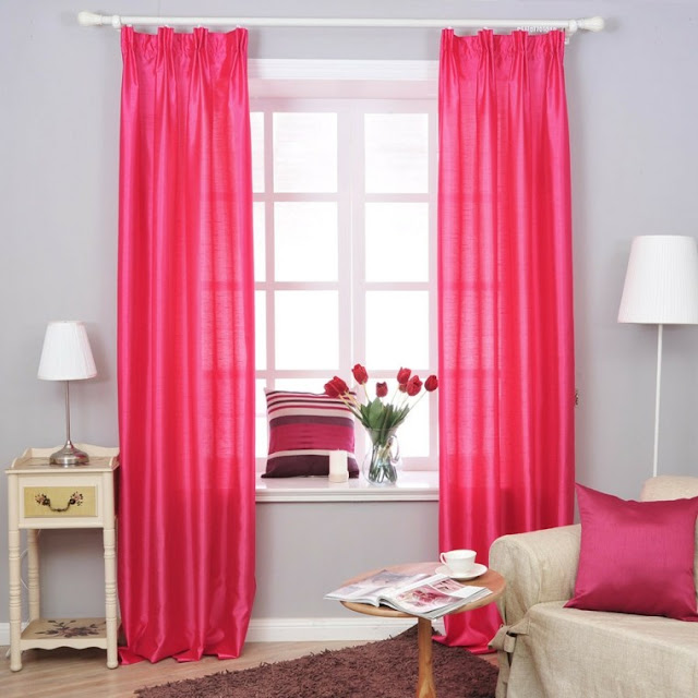 simple window curtain designs for living room