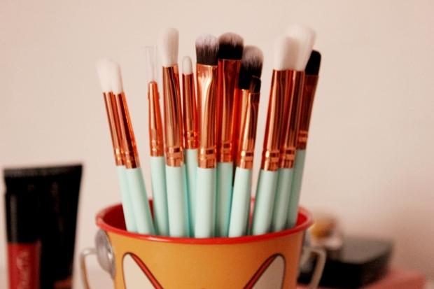 Kit de pincéis para maquiagem Tosave