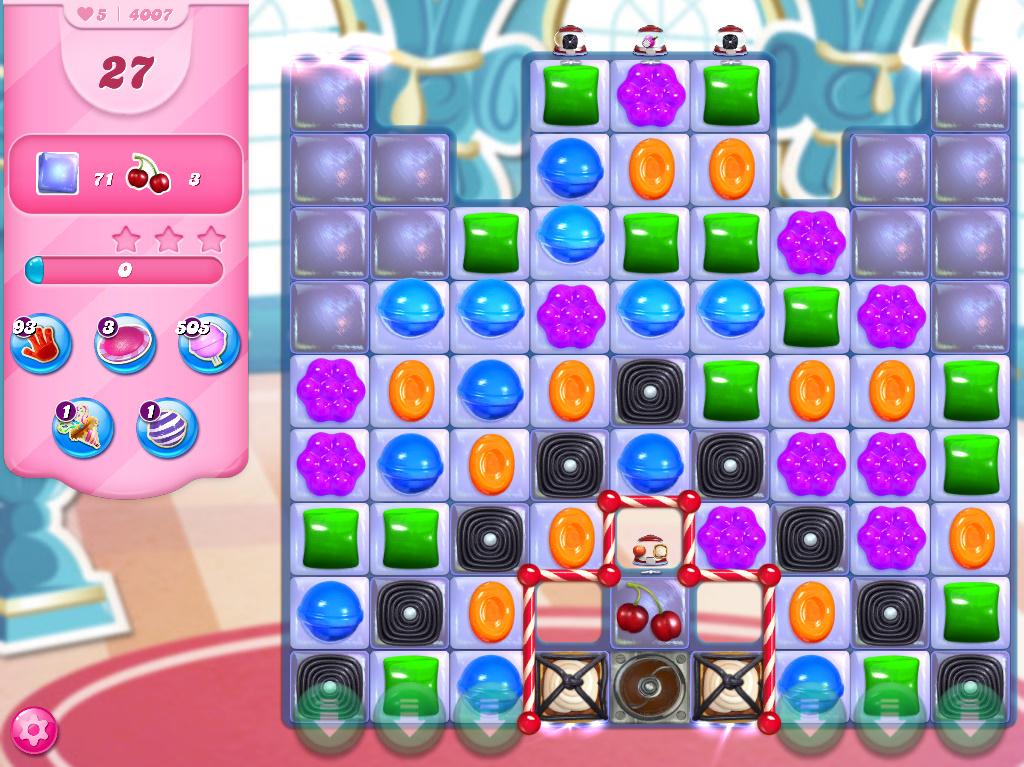 Candy Crush Saga level 4007
