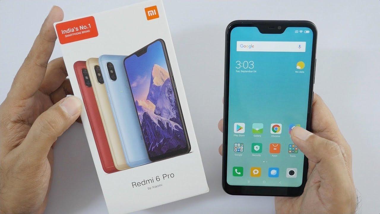 Harga Dan Spesifikasi Xiaomi Redmi 6 Pro Xiaomi Indonesia