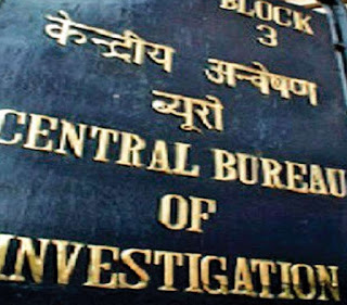 Central Bureau of Investigation's Sign Board