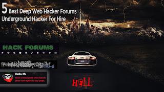 5 Best Deep Web Hacker Forums||Underground Hacker For Hire