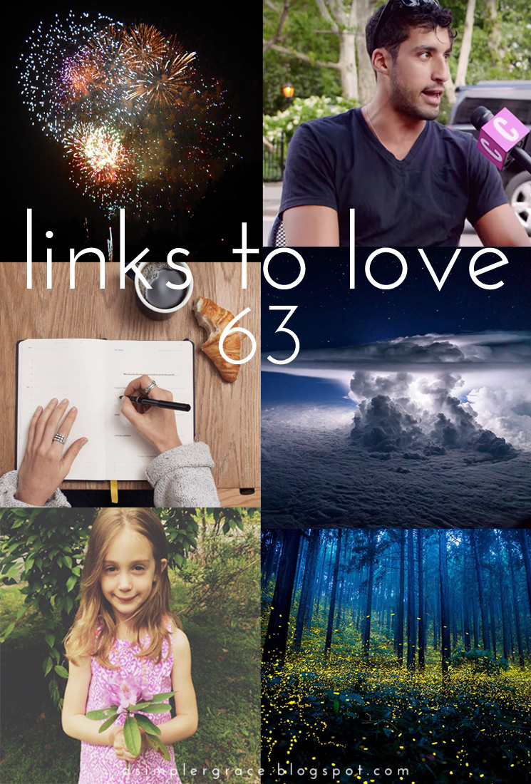 A post featuring my favorite reads from the week.  #linkstolove #fridayfavorites - Links to Love | 63 - A Simpler Grace