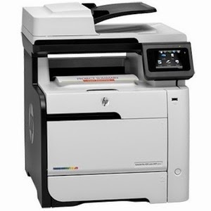 HP Laserjet Color M476dn, Duplex, Network,