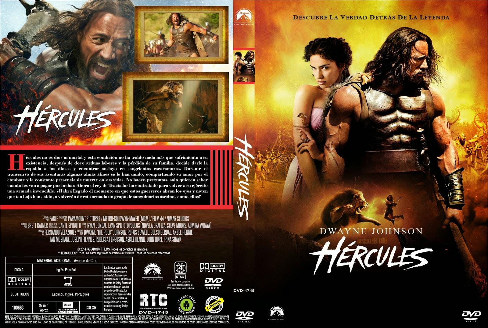 Hercules 2014 dvd