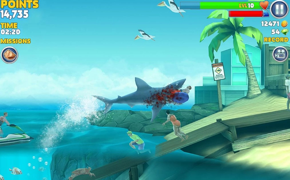 download game hungry shark mod