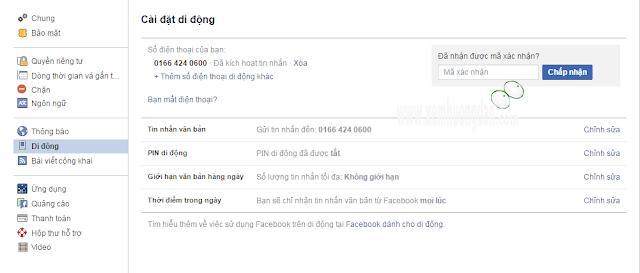 Huong dan bao ve tai khoan facebook