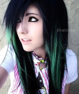 Emo Girls Hairstyle