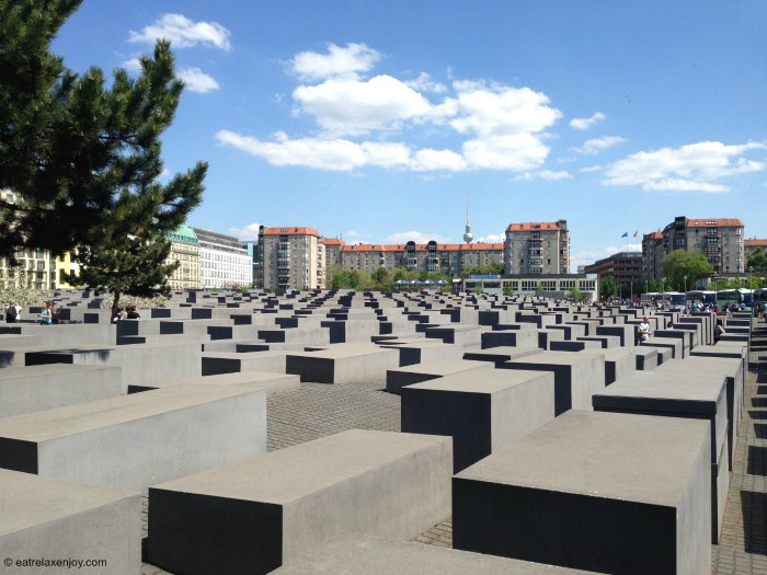 Berlin Holocaust Memorial for the Murdered Jews of Europe