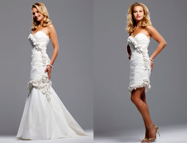 Platinum Touch Events Convertible Wedding Dresses