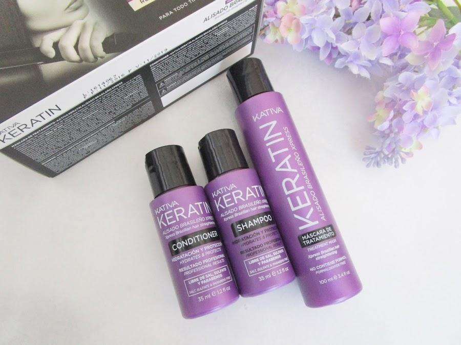 Aromas Perfumerias kativa kit alisado brasileño--beauty box