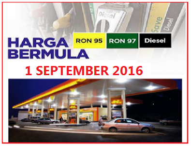 Harga minyak september 2016