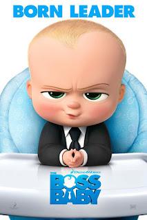 Bebé de Baby Boss en posicion como un politico