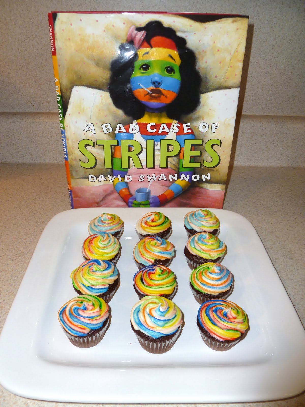 Indulge With Me Bad Case Of Stripes Cupcakes