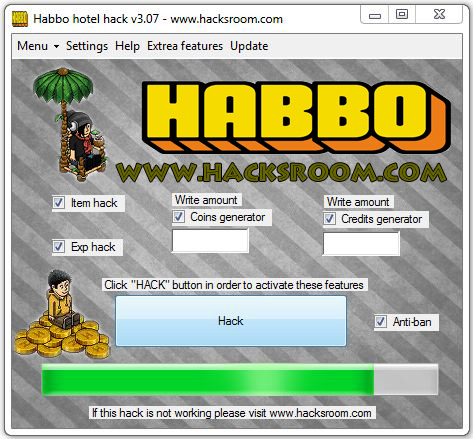 habbo taler generator