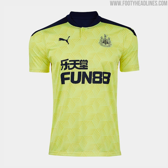 Newcastle 20-21 Away & Third Kits Released - Footy Headlines