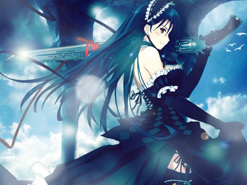 Macam macam ada gun anime girl - Gun girl anime ...