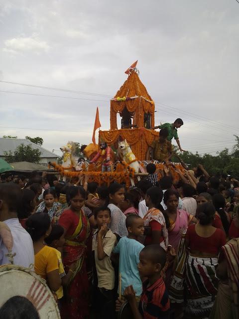 Kushmandi Ratha Yatra Live Image