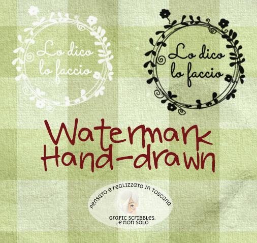 realizzazione watermark, timbri per foto