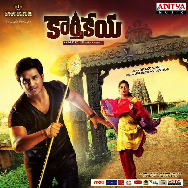 Karthikeya (2014) high quality mp3 songs free download | southmp3.