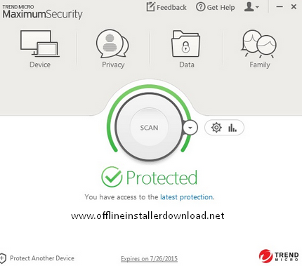 Trend Micro Maximum Security 2017 Download offline installer