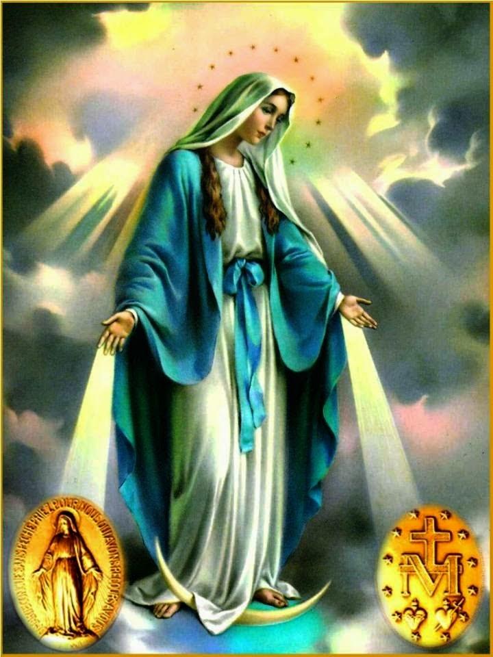 Resultado de imagen para virgen de la medalla milagros