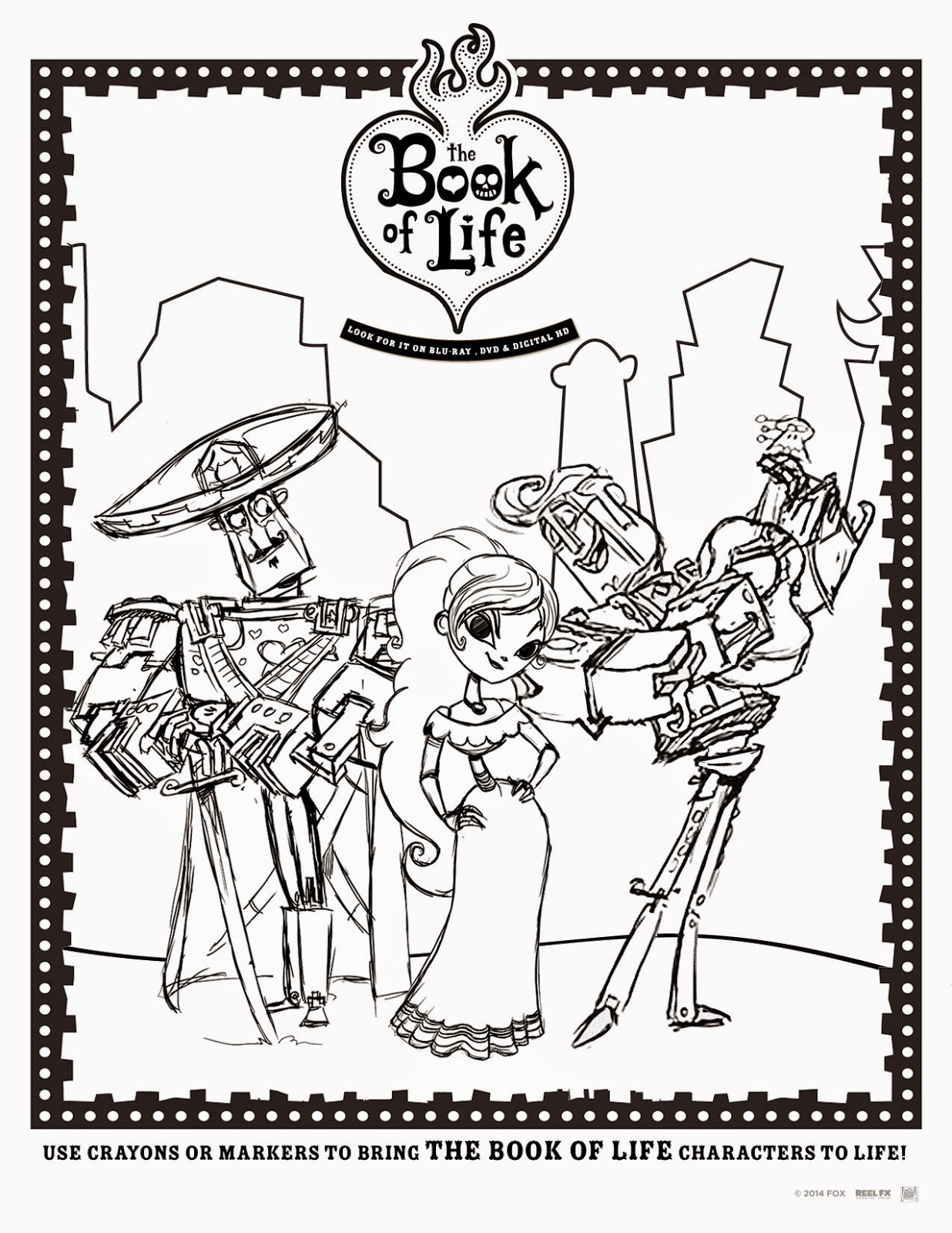 Alas 3 Lads The Book Of Life