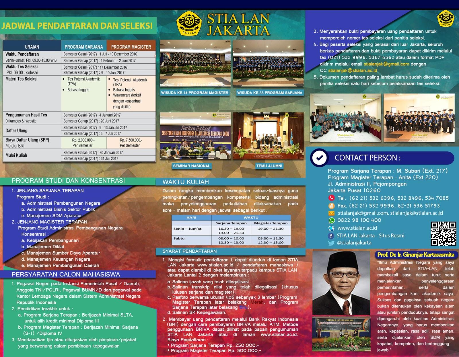 Leaflet PMB STIALAN 2017