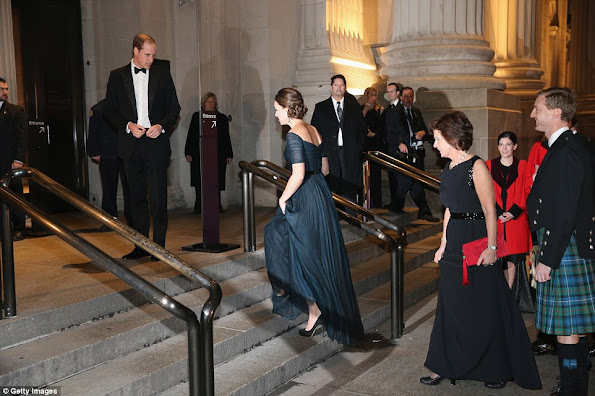 Catherine, Duchess of Cambridge attends the St. Andrews 600th Anniversary Dinner