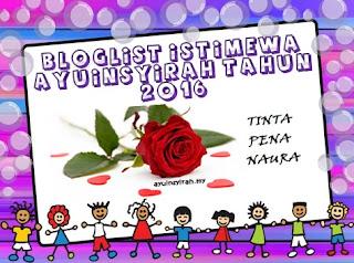 Bloglist Istimewa