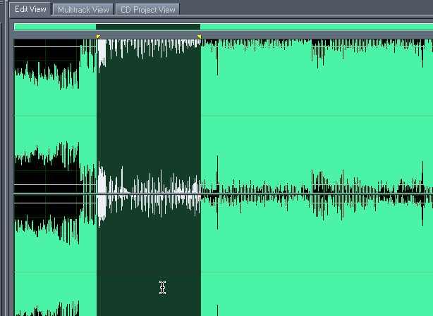 Audio editing - create a telephone voice effect