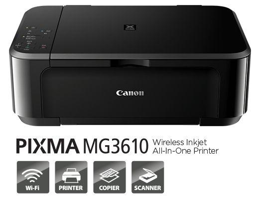 canon pixma mg3610 user manual printer manual guide rh printermanualguides blogspot com canon printer user's guide Install Canon Printer Setup