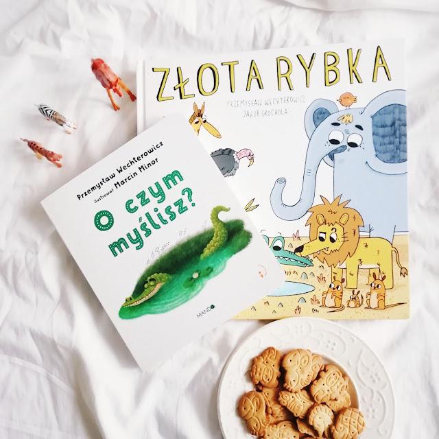 """""""O czym myślisz?"""", """"Złota rybka"""" Przemysław Wechterowicz"""