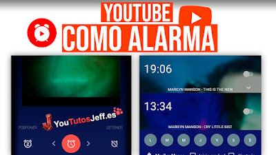 usar youtube como despertador