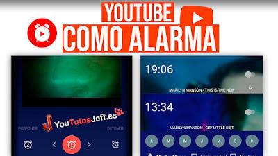 Youtube Despertador, Usa Youtube como Alarma