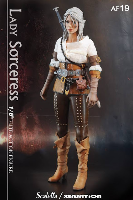 osw.zone Xenation x Scaletta 1/6 scale The Lady Sorceress 12-inch female action figure