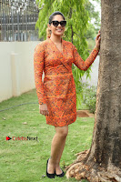 Actress Mumtaz Sorcar Stills in Short Dress at Guru Movie Success meet  0243.JPG