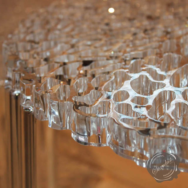 T-TABLE™ table - crystal/clear : Kartell
