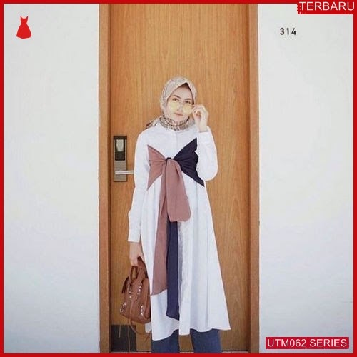 UTM062N46 Baju Nuraya Muslim Longtunik UTM062N46 03E | Terbaru BMGShop